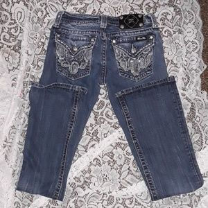 """Miss me Jean's  bootcut size 26 """"new condition"""